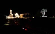 Crkva, samostan i muzej noću