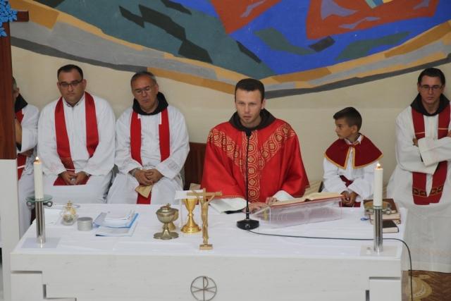 Proslava sv. Nikole Tavelića na Orašcu