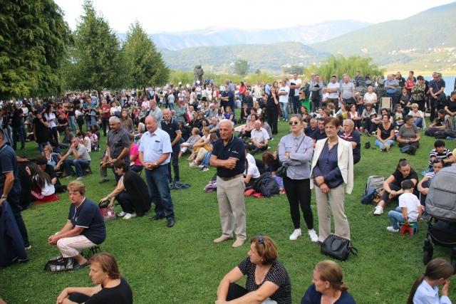 Misa Uočnica na Šćitu - Mala Gospa 2020. Nekoliko tisuća vjernika i hodočasnika došlo moliti se Gospi Ra