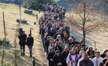 Put križa kroz fratarski gaj na Šćitu