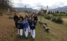 Put križa kroz fratarski gaj