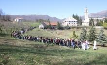 Nadbiskupijski križni put mladih na Šćitu